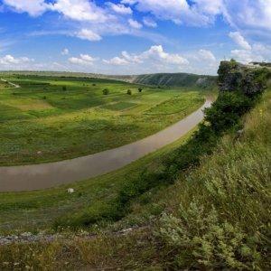 Zielone pole z drogą asfaltową